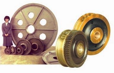 シーブ&鍛鋼車輪