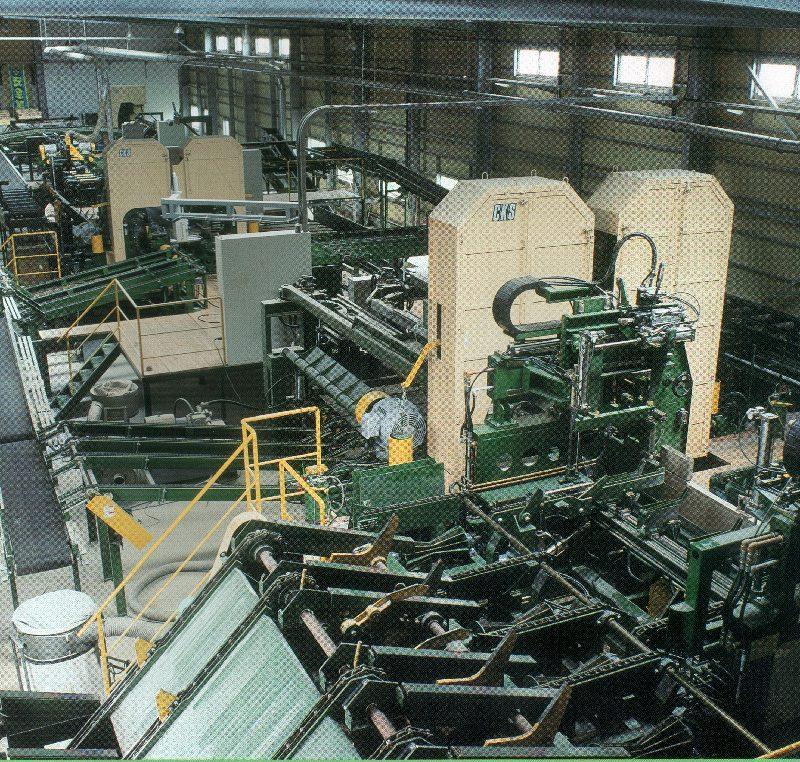 製材機械およびチップ製造機械・プラント