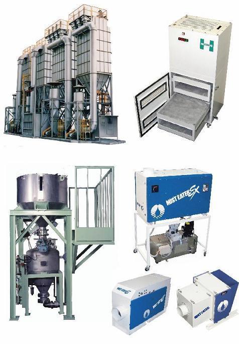 集塵装置・脱臭装置・空気輸送装置