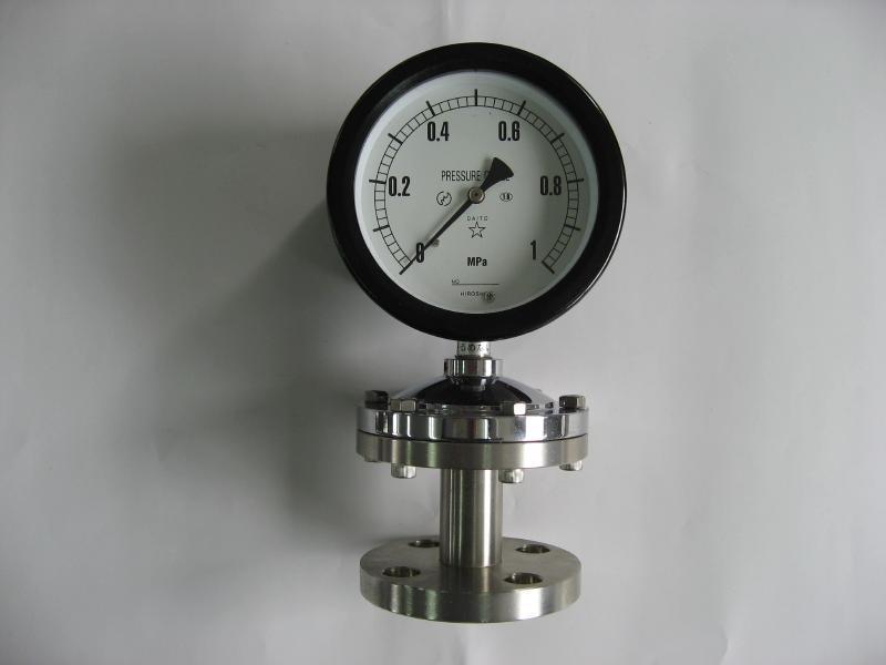 隔膜式圧力計